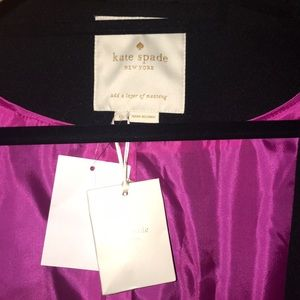 kate spade Jackets & Coats - NWT Kate Spade bow neck wool coat